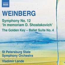 "Mieczyslaw Weinberg (1919-1996): Symphonie Nr.12 ""In Memoriam D.Shostakovich"", CD"