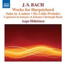 Johann Sebastian Bach (1685-1750): Werke für Cembalo, CD