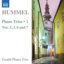 Johann Nepomuk Hummel (1778-1837): Klaviertrios Vol.1, CD
