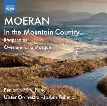 Ernest Moeran (1894-1950): Rhapsodien für Orchester Nr.1 & 2, CD