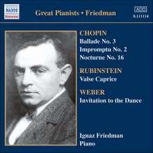 Ignaz Friedman - Complete Recordings Vol.5, CD