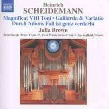 Heinrich Scheidemann (1596-1663): Sämtliche Orgelwerke Vol.6, CD