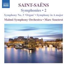 Camille Saint-Saens (1835-1921): Symphonien Vol.2, CD