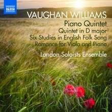 Ralph Vaughan Williams (1872-1958): Klavierquintett c-moll, CD