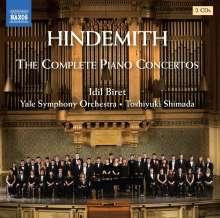 Paul Hindemith (1895-1963): Sämtliche Klavierkonzerte, 2 CDs