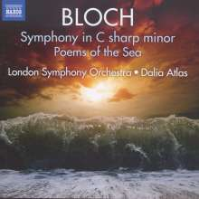 Ernest Bloch (1880-1959): Symphonie cis-moll, CD