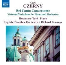 Carl Czerny (1791-1857): Variationen für Klavier & Orchester, CD