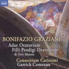 Bonifazio Graziani (1604-1674): Adae Oratorium, CD