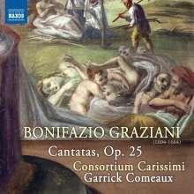 Bonifazio Graziani (1604-1674): Kantaten op.25, CD