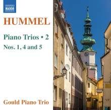 Johann Nepomuk Hummel (1778-1837): Klaviertrios Vol.2, CD