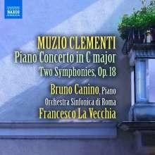 Muzio Clementi (1752-1832): Klavierkonzert C-Dur, CD