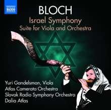 Ernest Bloch (1880-1959): Israel Symphony, CD