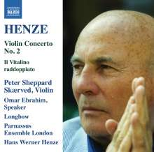 Hans Werner Henze (1926-2012): Violinkonzert Nr.2, CD