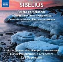 Jean Sibelius (1865-1957): Pelleas & Melisande - Suite op.46, CD
