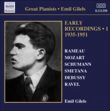 Emil Gilels - Early Recordings Vol.1 (1935-1951), CD