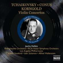 Jascha Heifetz  - Violin Concertos, CD
