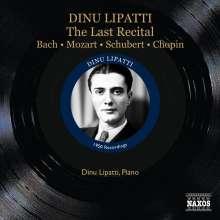 Dinu Lipatti - The Last Recital, CD