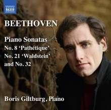 Ludwig van Beethoven (1770-1827): Klaviersonaten Nr.8,21,31, CD