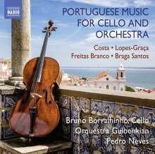 Bruno Borralhinho - Portugiesische Musik für Cello & Orchester, CD
