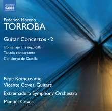 Federico Moreno Torroba (1891-1982): Gitarrenkonzerte Vol.2, CD