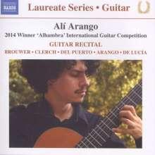 Ali Arango - Guitar Recital, CD