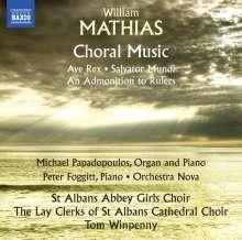 William Mathias (1934-1992): Chormusik, CD