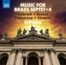 Septura - Music For Brass Septet Vol.4, CD