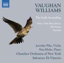 Ralph Vaughan Williams (1872-1958): Fantasia für Klavier & Orchester, CD