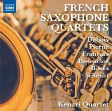 Kenari Quartet - French Saxophone Quartets, CD