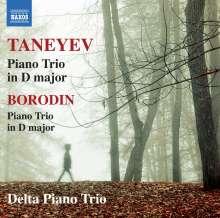 Serge Tanejew (1856-1915): Klaviertrio op.22, CD