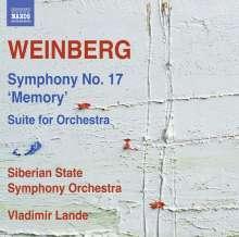 "Mieczyslaw Weinberg (1919-1996): Symphonie Nr.17 ""Memory"", CD"