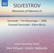 Valentin Silvestrov (geb. 1937): Moments of Memory II für Klavier & Streichorchester, CD