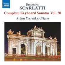 Domenico Scarlatti (1685-1757): Klaviersonaten Vol.20, CD