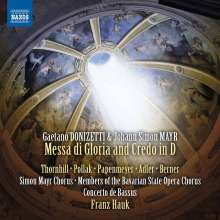 Gaetano Donizetti (1797-1848): Messa di Gloria e Credo, CD