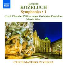 Leopold Kozeluch (1747-1818): Symphonien Vol.1, CD
