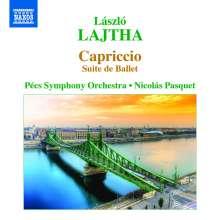 Laszlo Lajtha (1892-1963): Capriccio - Ballettsuite op.39, CD