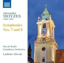 Alexander Moyzes (1906-1984): Symphonien Nr.7 & 8, CD