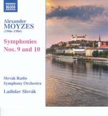 Alexander Moyzes (1906-1984): Symphonien Nr.9 & 10, CD