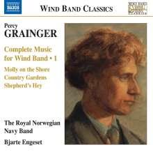 Percy Grainger (1882-1961): Werke für Bläserensemble Vol.1, CD