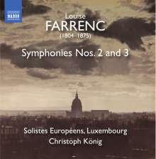 Louise Farrenc (1804-1875): Symphonien Nr.2 & 3, CD