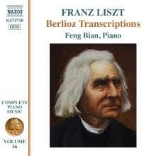 Franz Liszt (1811-1886): Klavierwerke Vol.46 - Berlioz Transcriptions, CD