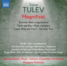 Toivo Tulev (geb. 1958): Magnificat, CD