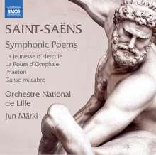 Camille Saint-Saens (1835-1921): Symphonische Dichtungen Nr.1-4, CD
