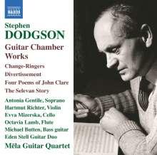 Stephen Dodgson (1924-2013): Gitarrenwerke & Kammermusik mit Gitarre, CD