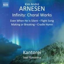 "Kim Andre Arnesen (geb. 1980): Chorwerke ""Infinity"", CD"