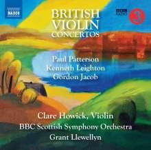 Clare Howick - British Violin Concertos, CD