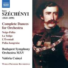 Imre Szechenyi (1825-1898): Tänze für Orchester, CD