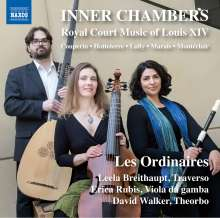 Inner Chambers - Royal Court Music of Louis XIV, CD