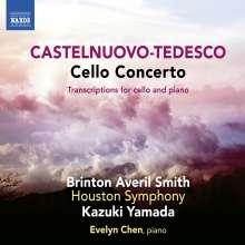 Mario Castelnuovo-Tedesco (1895-1968): Cellokonzert, CD