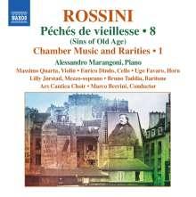Gioacchino Rossini (1792-1868): Kammermusik & Raritäten Vol.1, CD